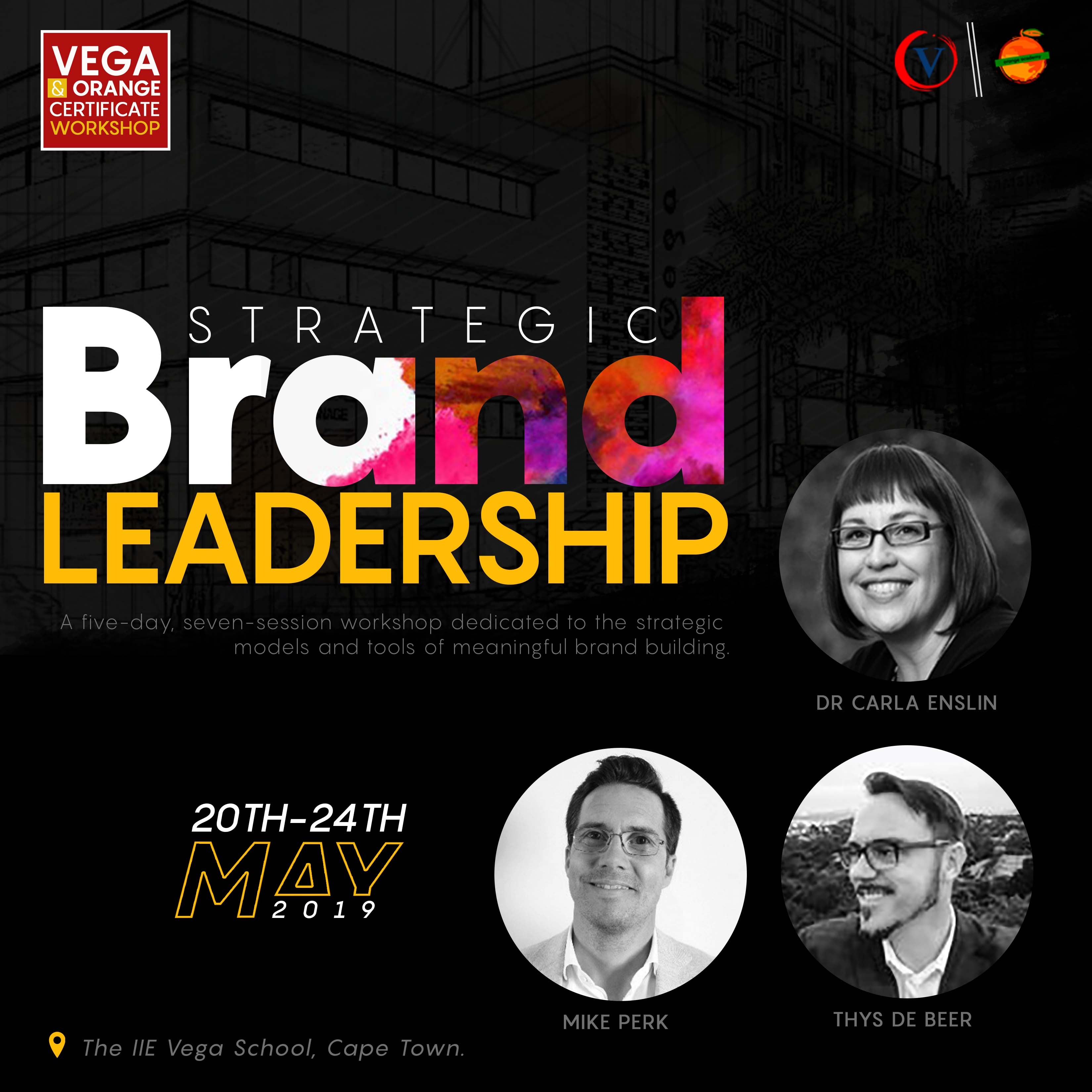 Don't miss this Opportunity to Learn about the Tools for Brand Building in South Africa | May 20th-24th