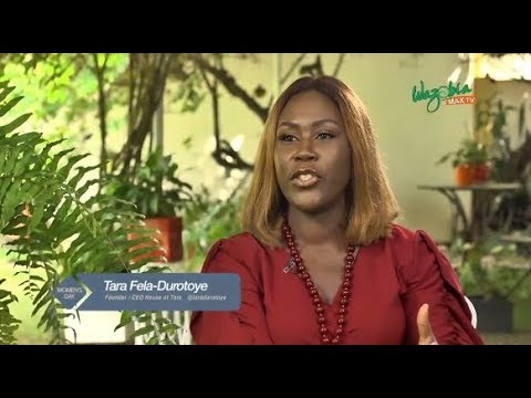 Tara Fela-Durotoye shares What Running a Business is like for Nigerian Women | Watch on BN TV