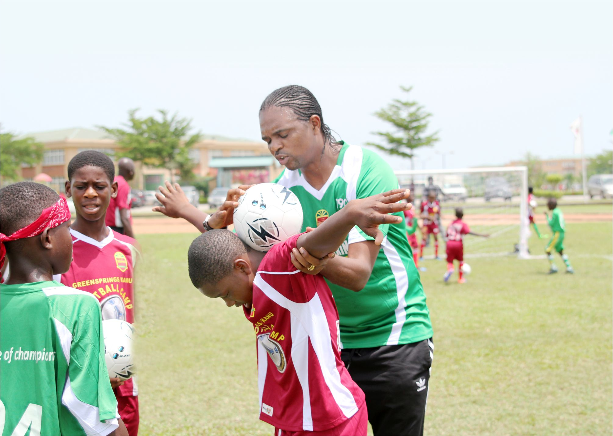 Would You like Your Child to be Mentored by a Football Legend? Register For the Greensprings/ Kanu Camp Here