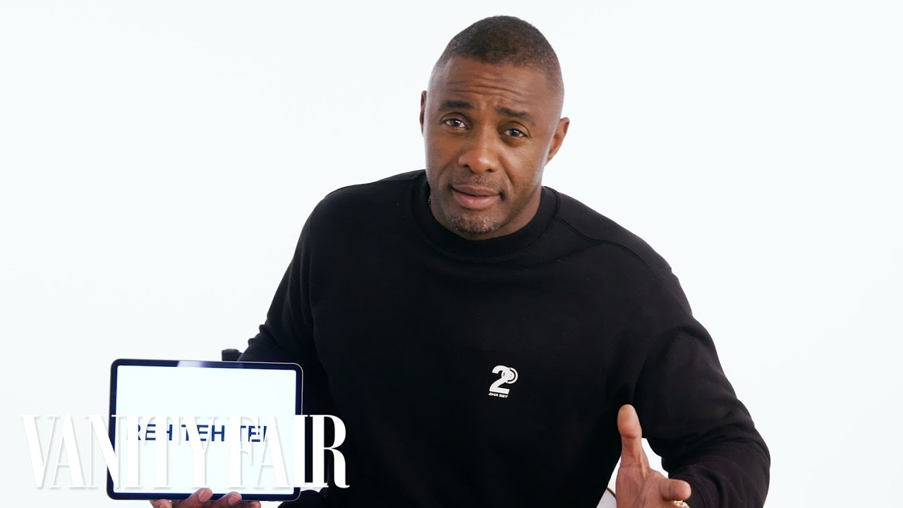 "Idris Elba is a British Slang Teacher in Vanity Fair's ""Slang School"" 