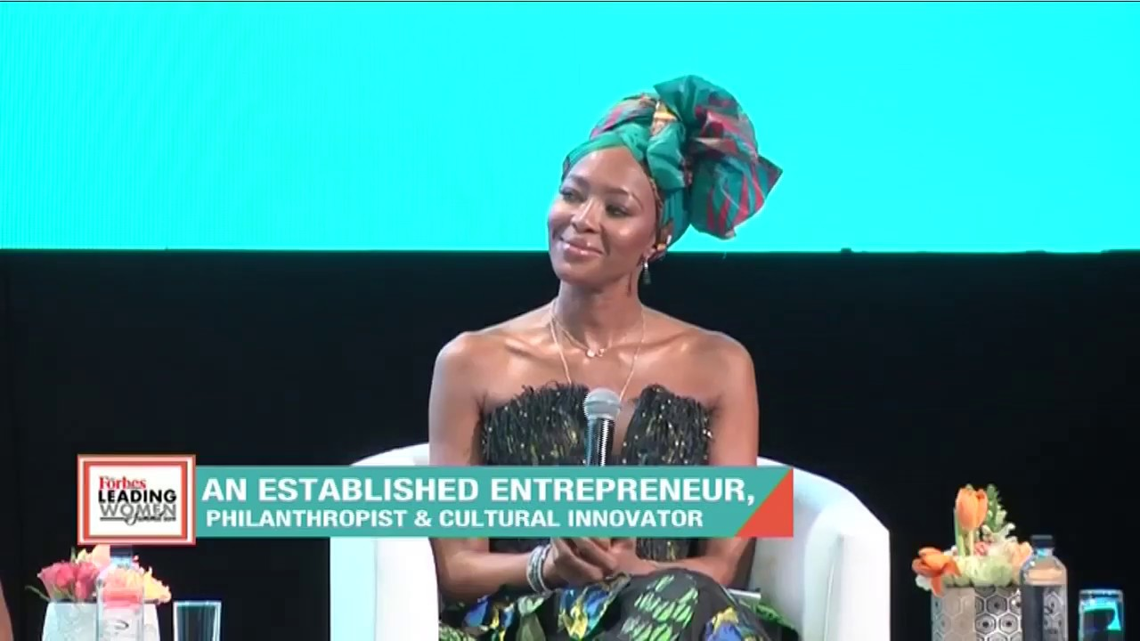 So Inspiring! WATCH this Interview with Naomi Campbell at the 2019 Forbes Woman Africa Leading Women Summit