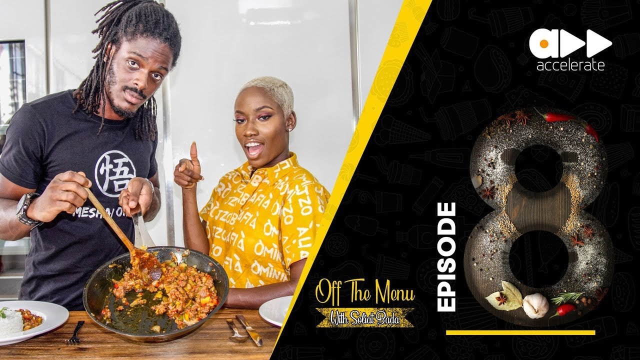"""Tomi Thomas reveals how to Make his Special Sauce on Soliat Bada's """"Off The Menu"""" 