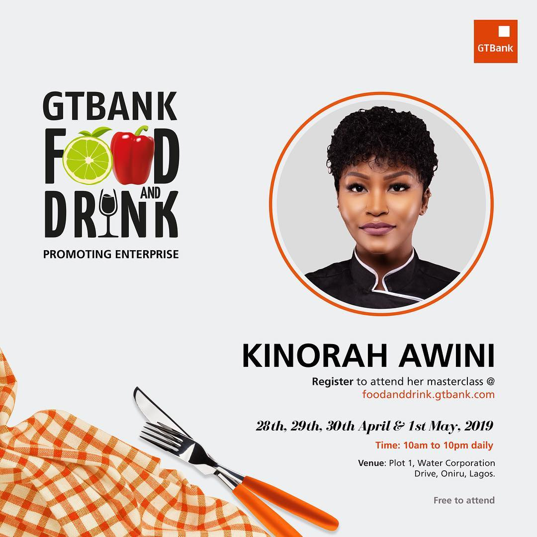 a7ea30948 GTBank Food and Drink Festival Just Got Better With These ...