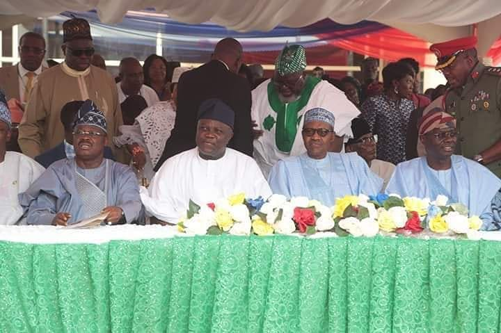 Image result for Buhari in lagos commissioning projects