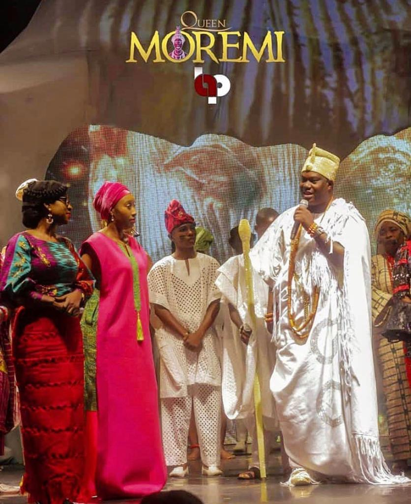 Queen Moremi The Musical entertains Ooni of Ife with an Amazing Performance | Tickets for the Play are still Available