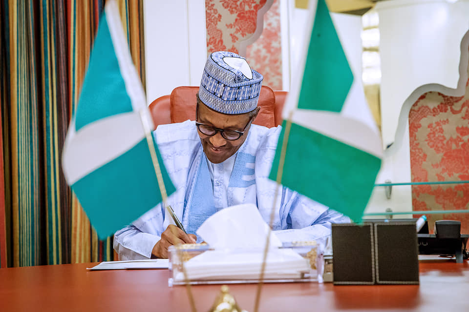 I expect More Commitment from Workers – Buhari says as he Signs N30k Minimum Wage Bill