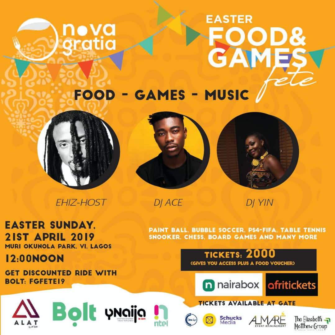 "The ""Food and Games Fete"""