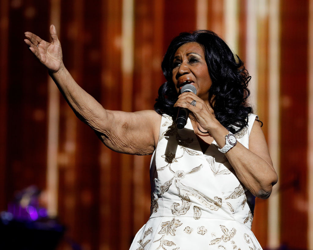 Aretha Franklin was just awarded a Pulitzer Prize!