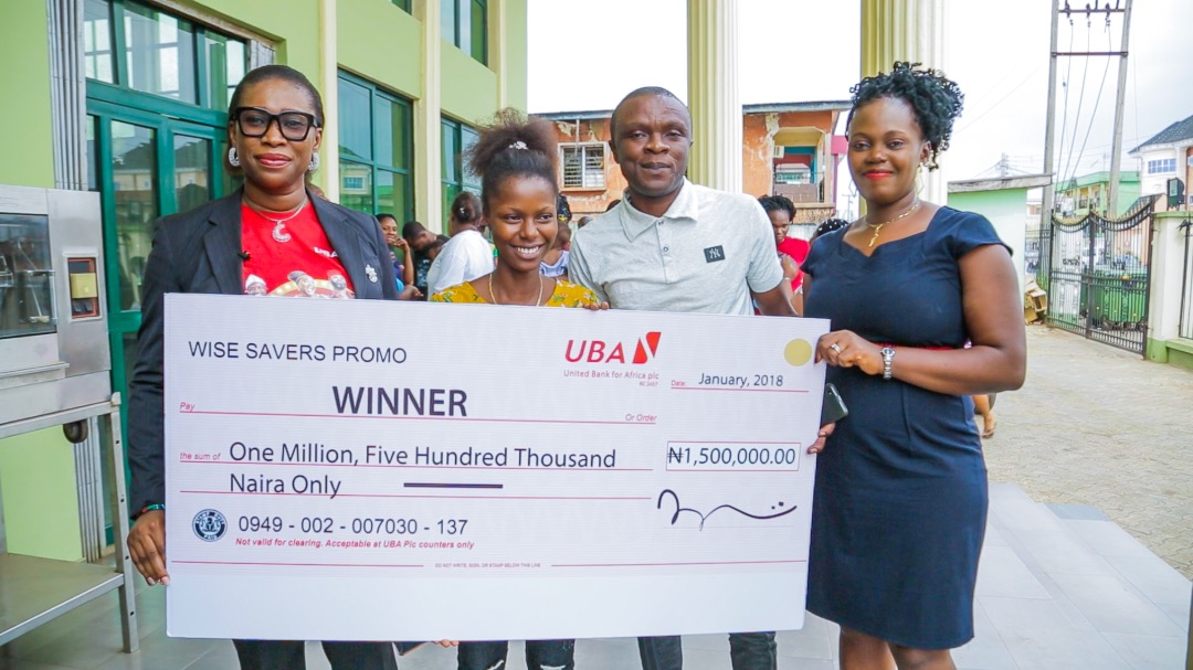 Don't Miss this Opportunity to Win ₦1.5M with UBA Wise Savers Promo!