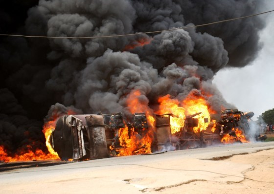 Police says Ibadan Tanker Explosion killed 2 People