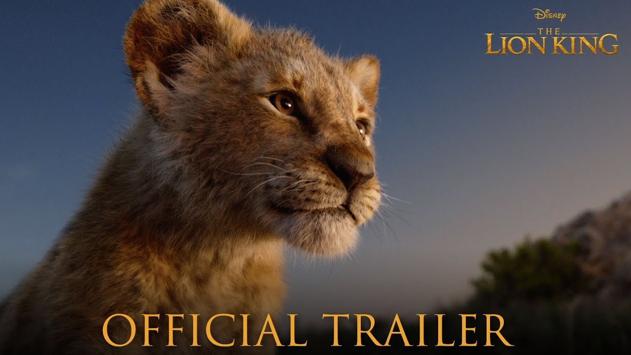 check out the official trailer for  u0026quot the lion king u0026quot