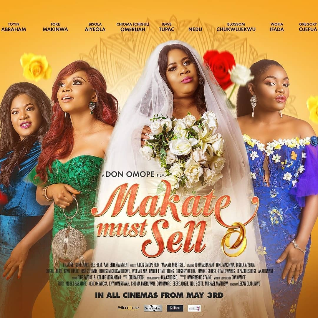 "WATCH the Teaser for ""Makate Must Sell"" starring Chigul, Toke Makinwa, Bisola Aiyeola, Toyin Abraham, Blossom Chukwujekwu"
