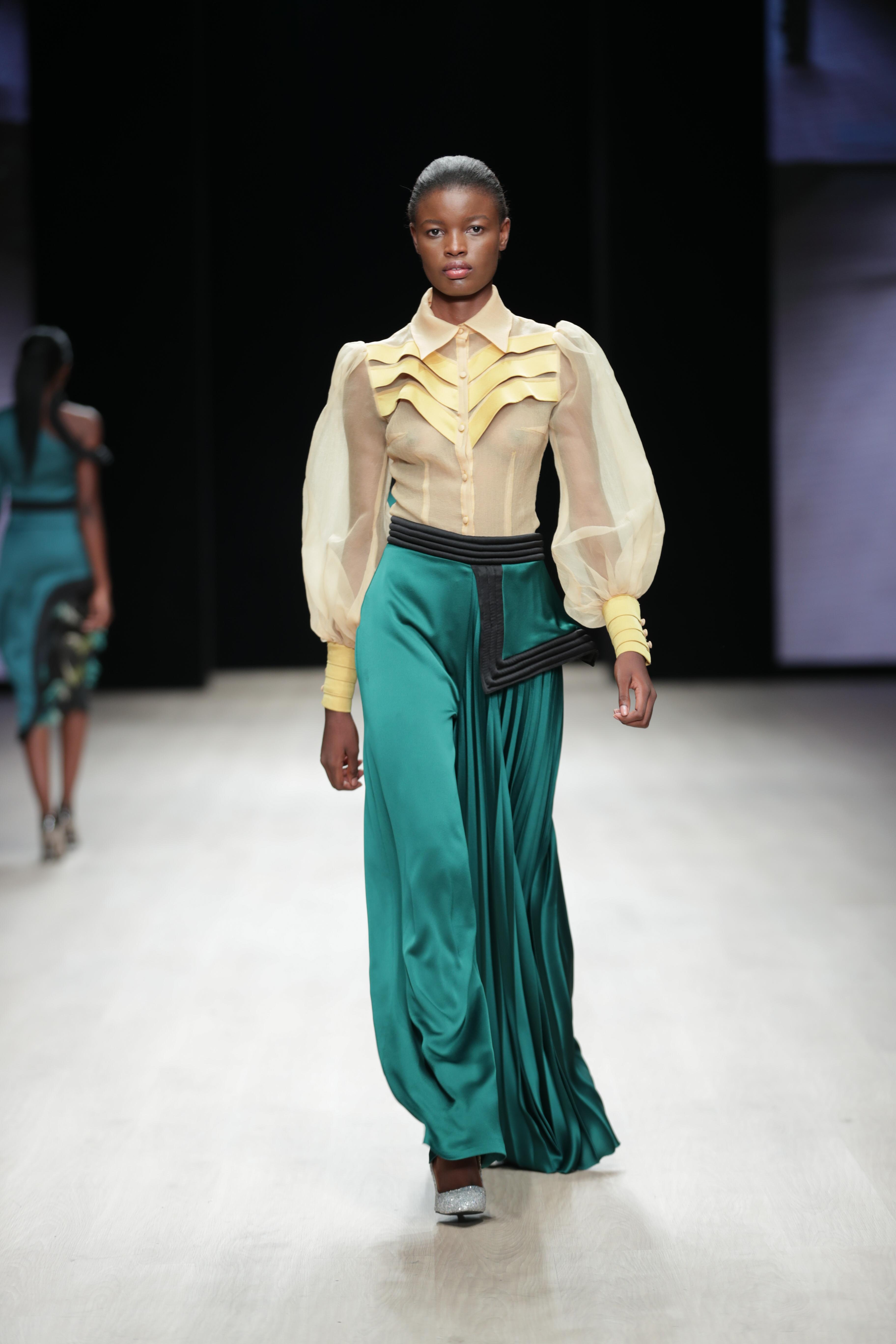 ARISE Fashion Week 2019 – Runway Day 2: Yutee Rone