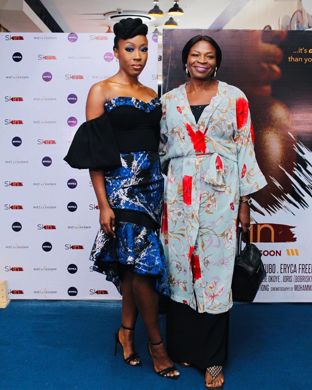 "First Photos: Omotola Jalade-Ekeinde, Mo Abudu, Beverly Naya spotted at the Premiere of Documentary ""Skin"""