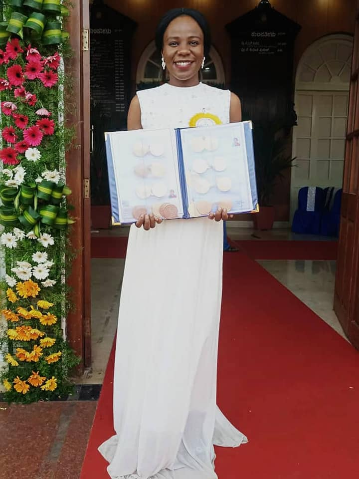 Usmanu Danfodiyou University celebrates Graduate Stella Emelife who Broke Academic Record at Indian University