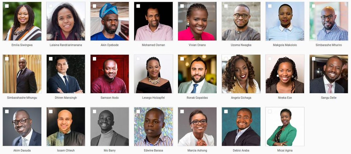 2019 Cohort for the Tutu Leadership Fellowship Announced   See Full List