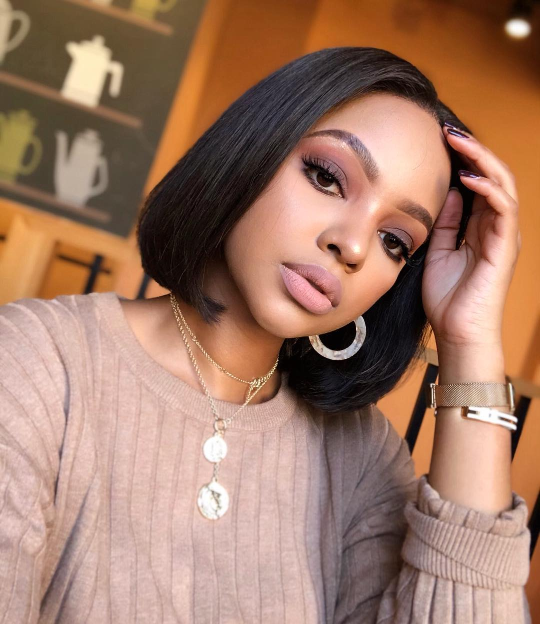 Bn Beauty Nail Mihlali Ndamase S Signature Beauty Look