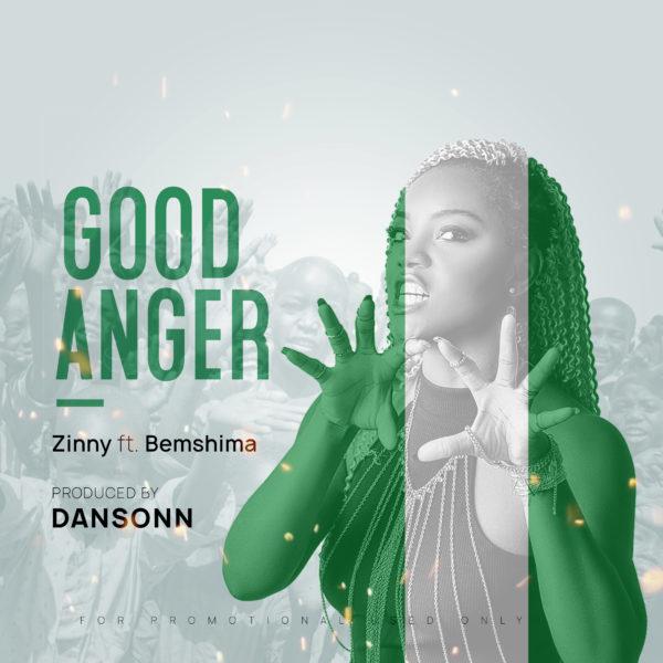 New Music: Zinny feat. Bemshima - Good Anger | BellaNaija