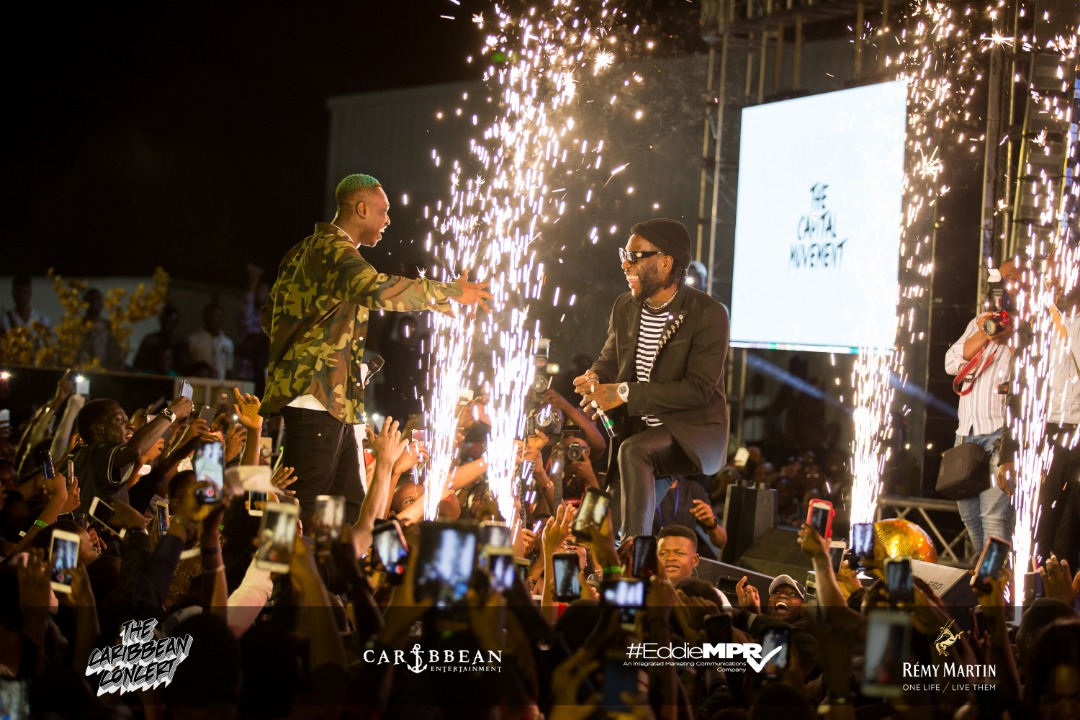 Highlights from the Caribbean Concert in Abuja with Burna Boy, Teni & Styl-Plus