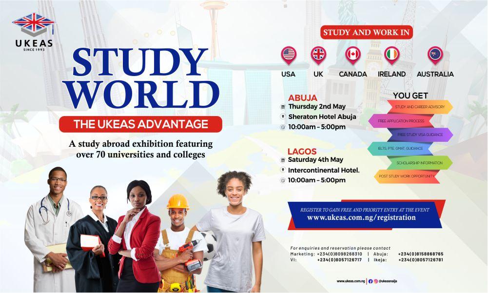 UKEAS Study World Exhibition