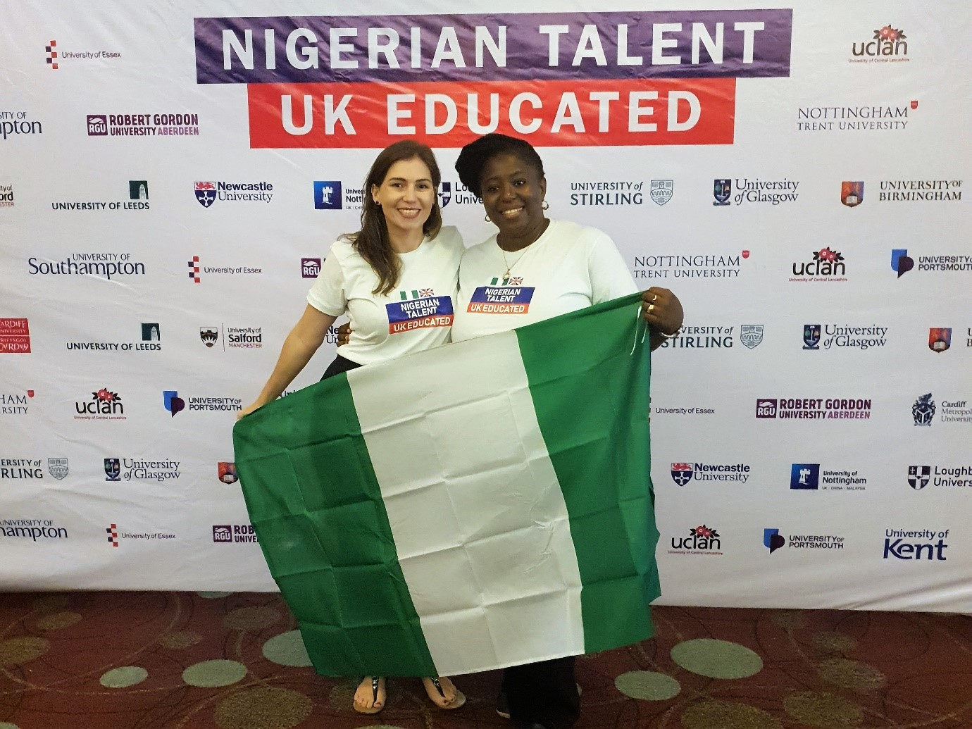 Nigerians who Graduated from UK Universities were hosted to a Career Fair
