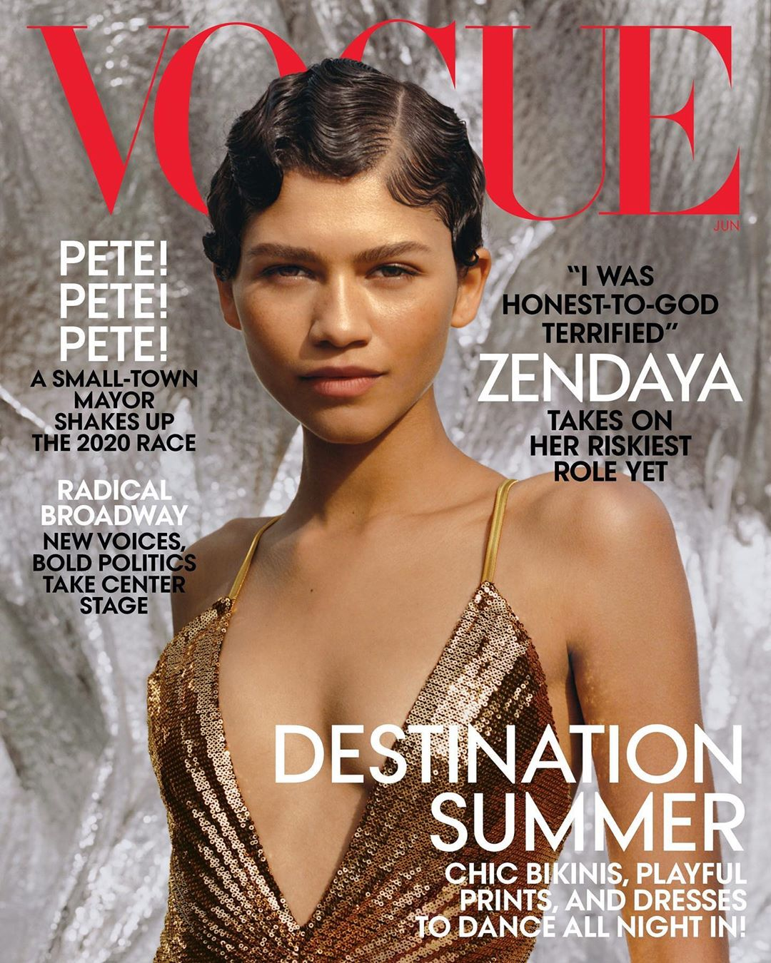 Vogue Cover: Zendaya Is Vogue US Latest Cover Girl