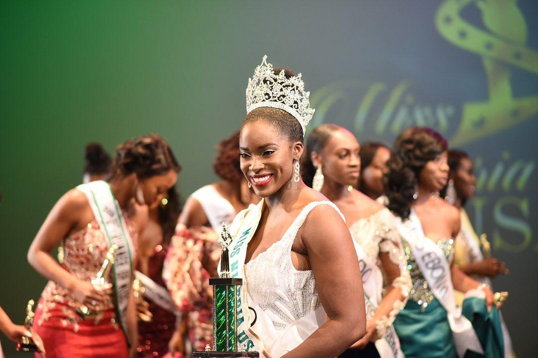Meet the 2019 Miss Nigeria USA Queen – Funmike Lagoke (She's Gorgeous!)