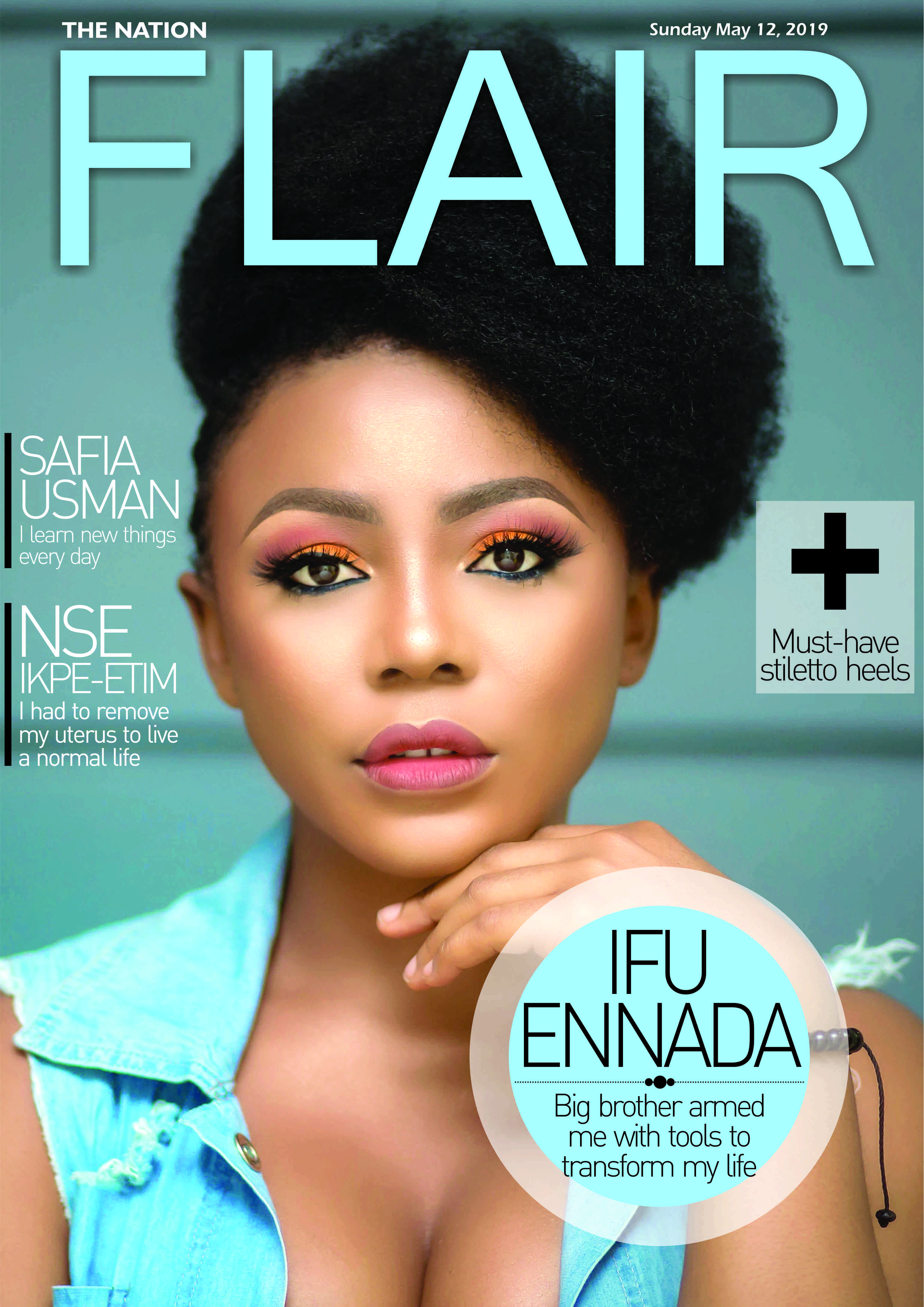 #BBNaija's Ifu Ennada covers Flair Magazine's Latest Issue