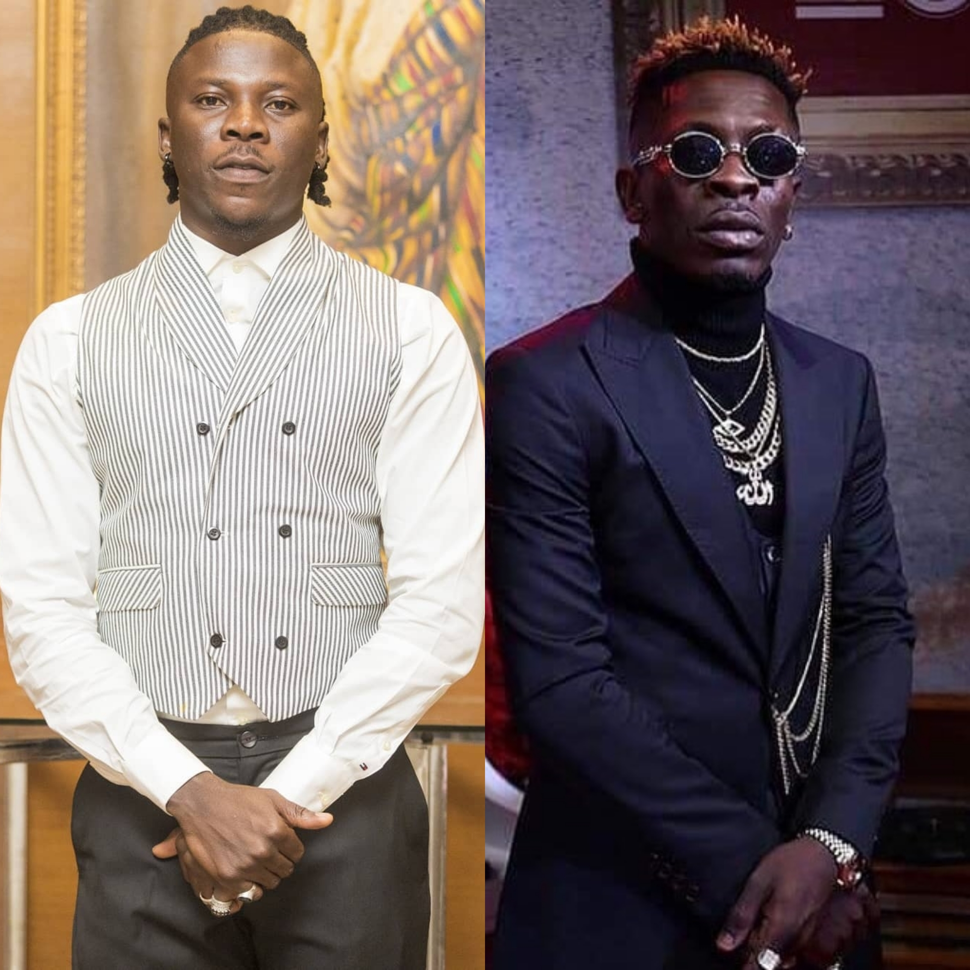 Image result for shatta wale and stonebwoy