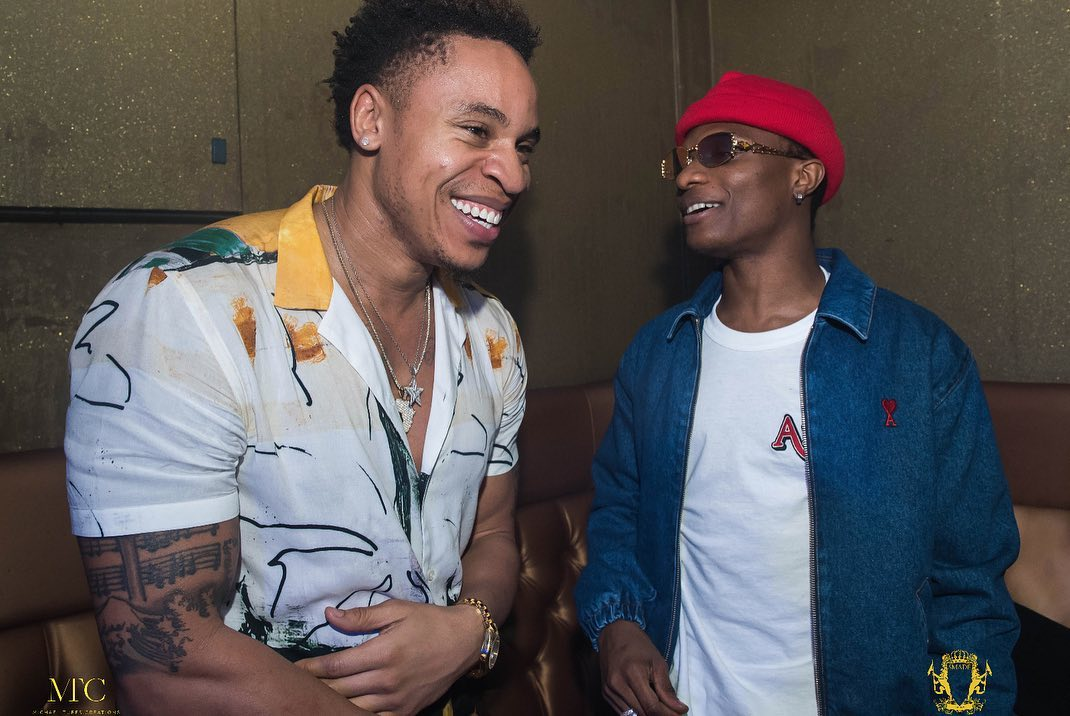 """Power"" Actor Rotimi is celebrating 10 Years of Brotherhood with Wizkid"