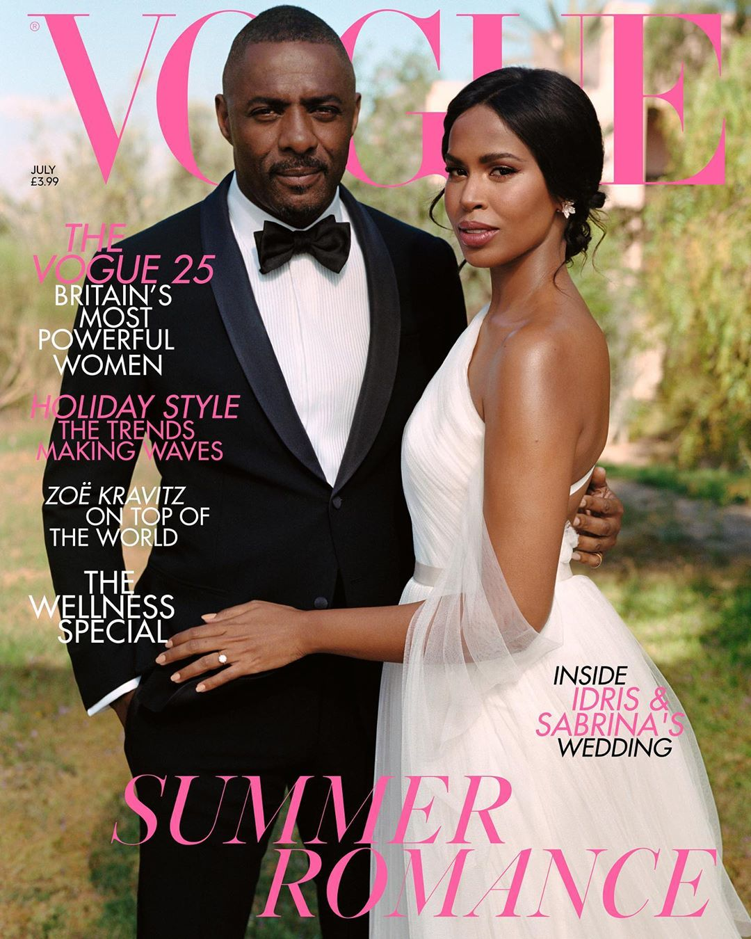 How Idris Elba's Wife Sabrina Dhowre Changed His Mind About Marriage