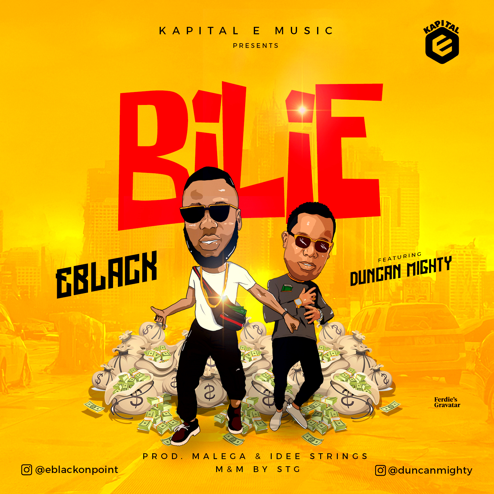 New Music: EBlack feat Duncan Mighty – Bilie