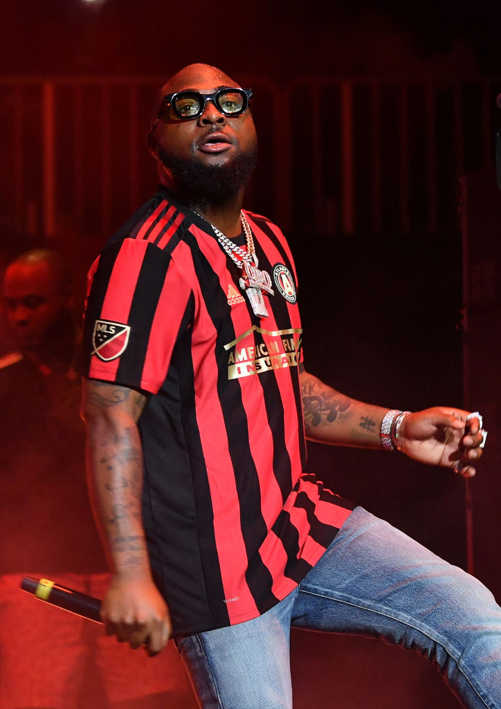 Davido rocked the Stage at Hot 107.9's Birthday Bash alongside Migos, Lloyd, Gucci Mane