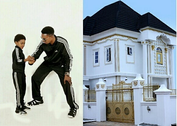 I Go Dye gets New House for Son on 9th Birthday
