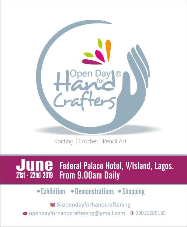 Don't Miss the Open Day for Handcraftersthis Weekend   June 21st & 22nd