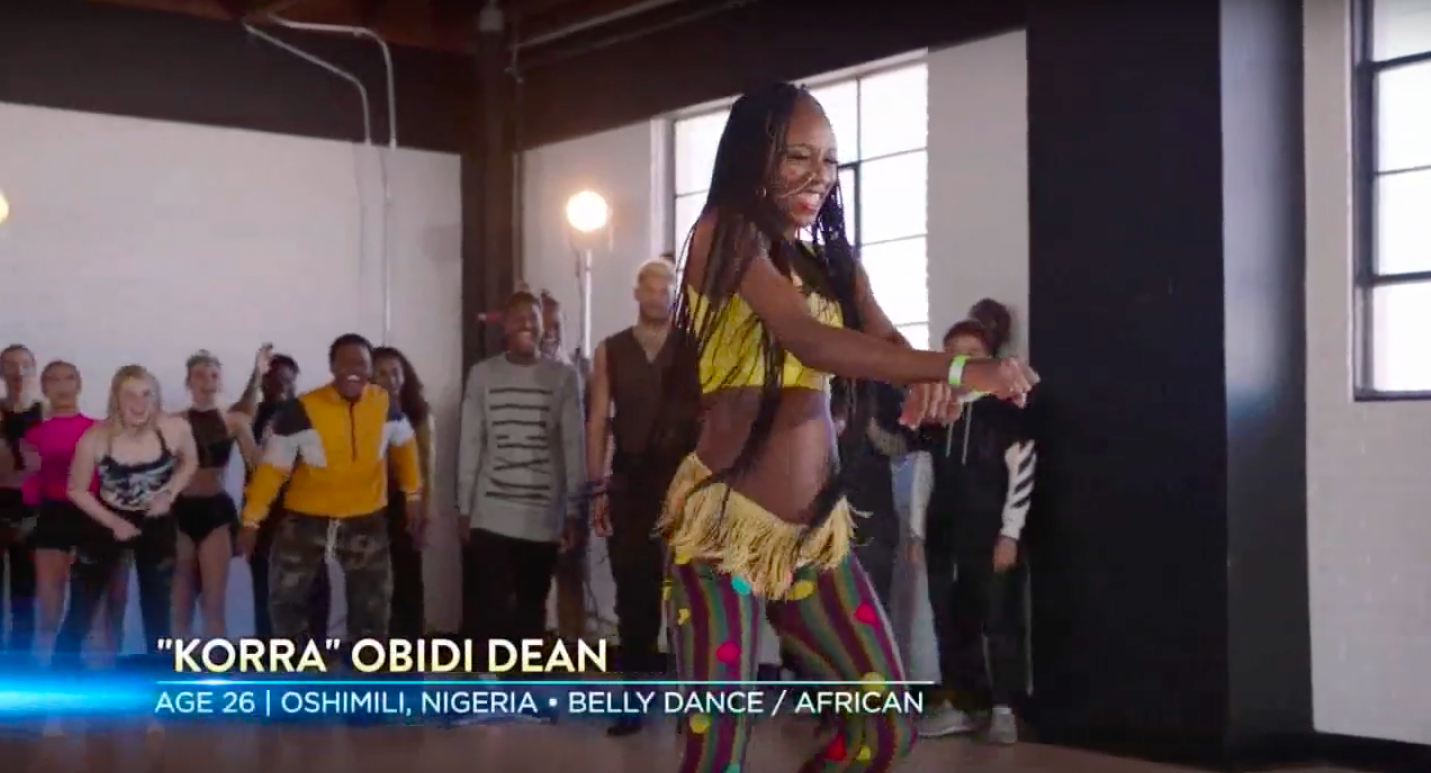 """Korra Obidi is not letting a 6-Month Pregnancy stop her from Belly Dancing on """"So You Think You Can Dance"""" 