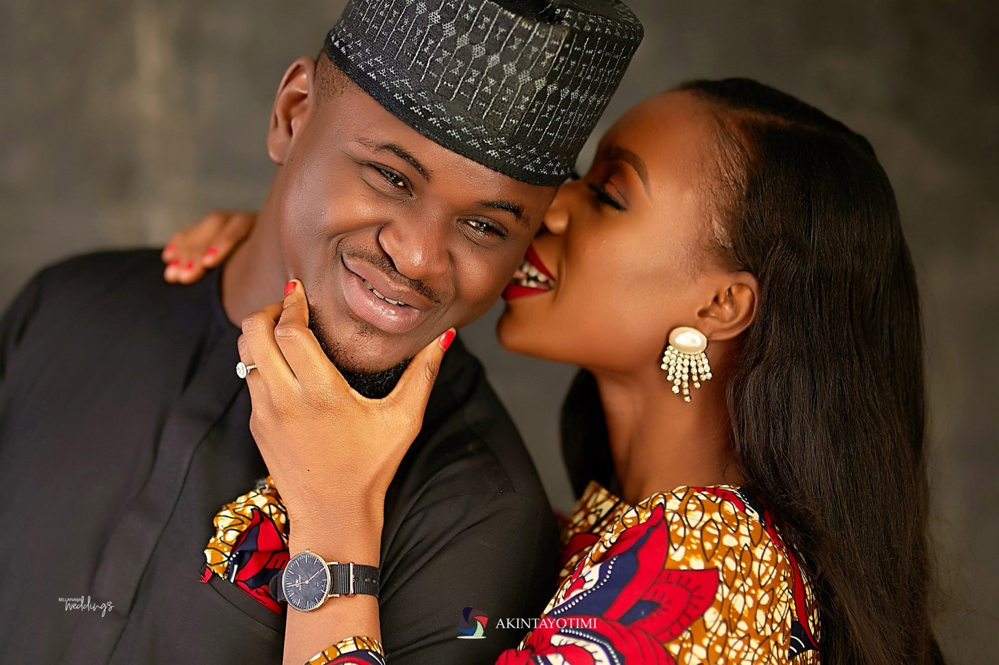 I can't Imagine Life Without You! Tomi & Yomi's Pre-wedding