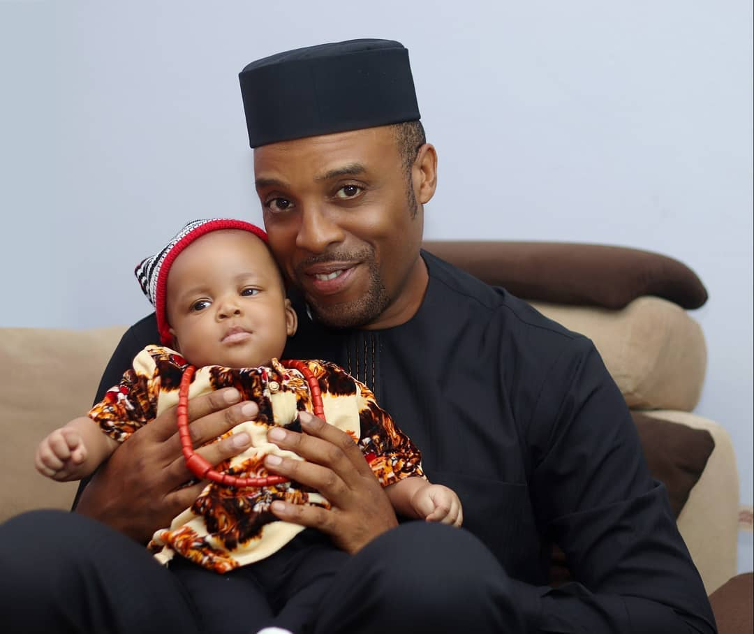 You've got to See these Lovely Photos from Kalu Ikeagwu & Wife Ijeoma's Son's Dedication
