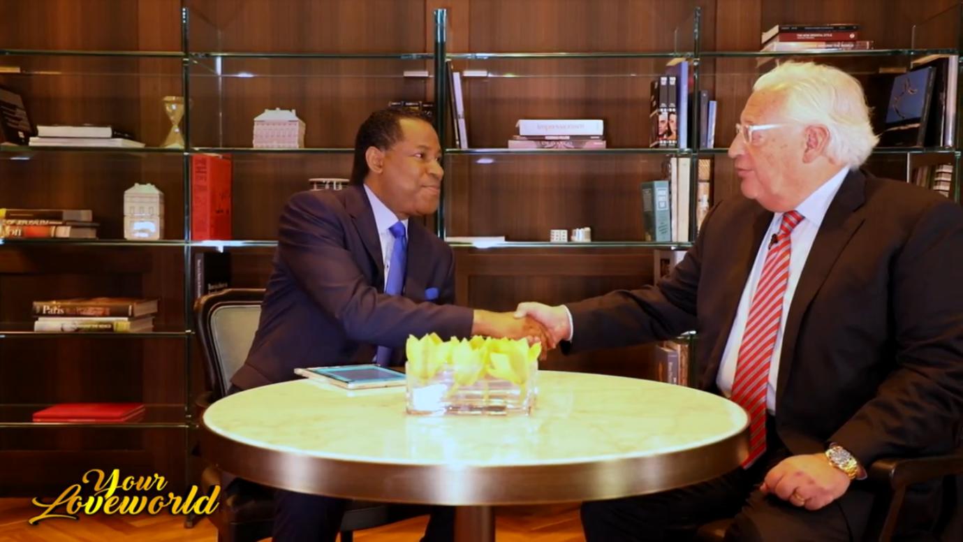Watch as Pastor Chris Oyakhilome interviews Trump's appointed US Ambassador to Israel, David Friedman