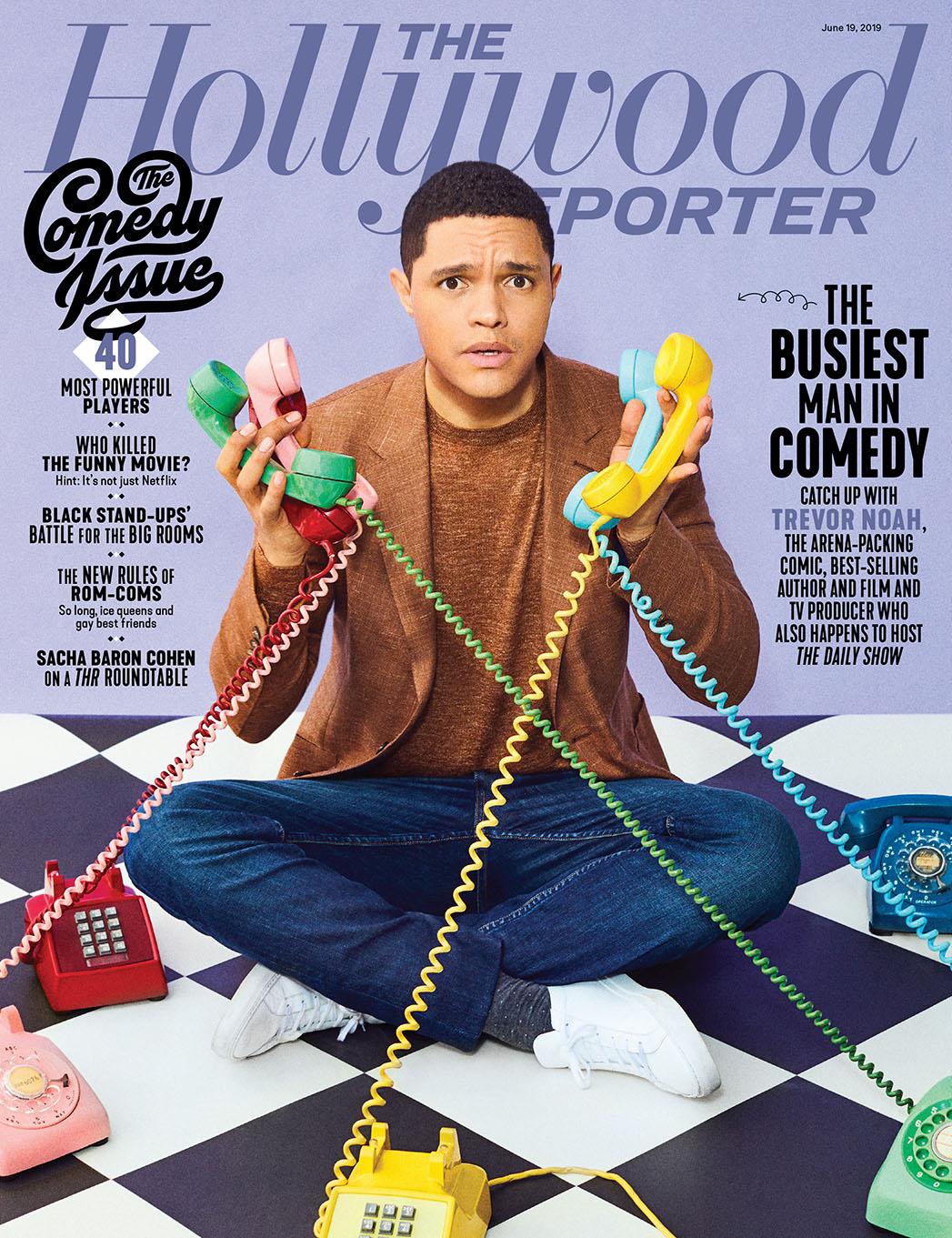 Stand-Up, Podcast, Books, TV & Film… Is Trevor Noah the Busiest Man in Comedy?