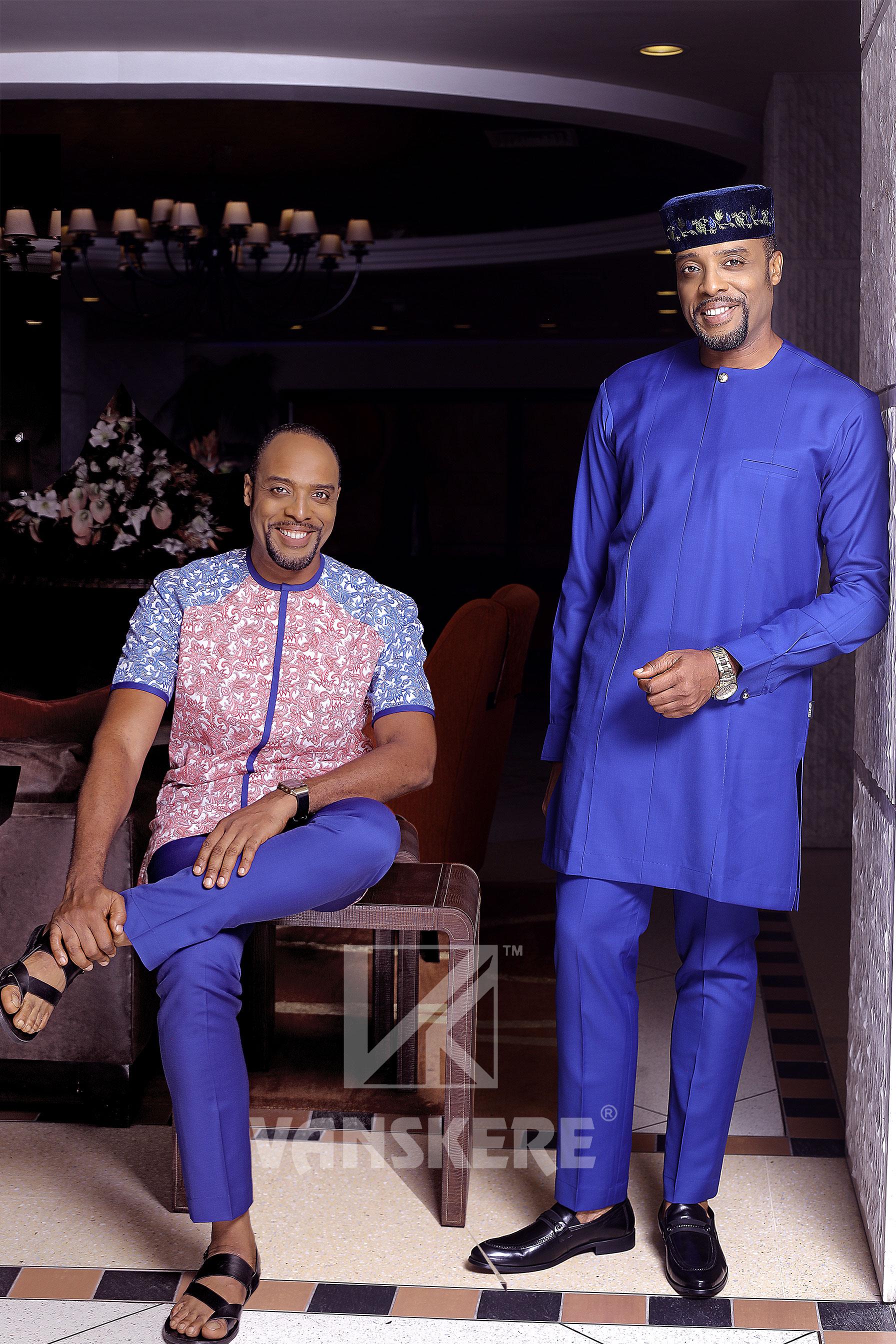 Vanskere presents Afropolitan 3-in-1 Lookbook with Nollywood's Kalu Ikeagwu as Muse