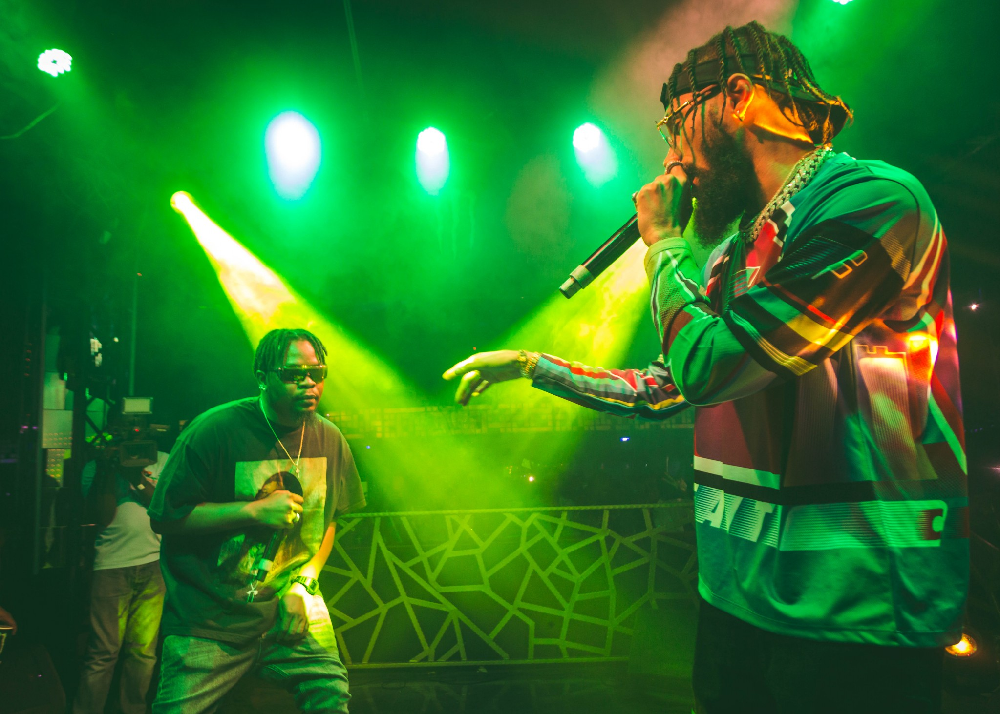 Olamide, Phyno Thrill Audience at the Monster Energy '2