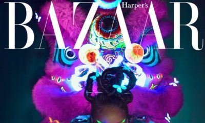 Rihanna is the Princess of China on Harper's Bazaar China August 2019 Cover