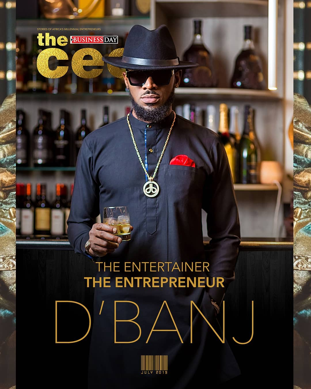 D'Banj covers Latest Edition of Business Day's CEO Magazine