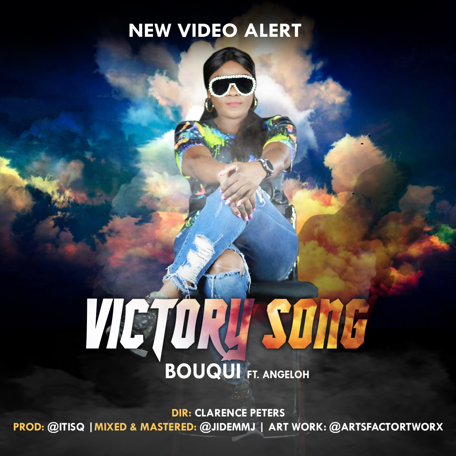 "BOUQUI releases Video for ""Victory Song"" feat Angeloh 
