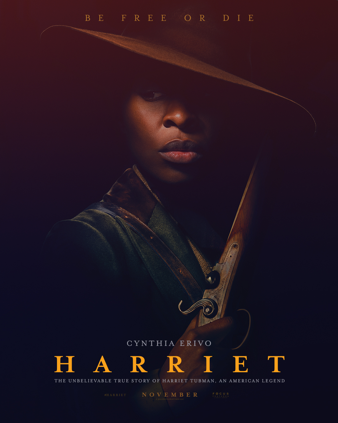 Cynthia Erivo stars as Harriet Tubman in first trailer for biopic