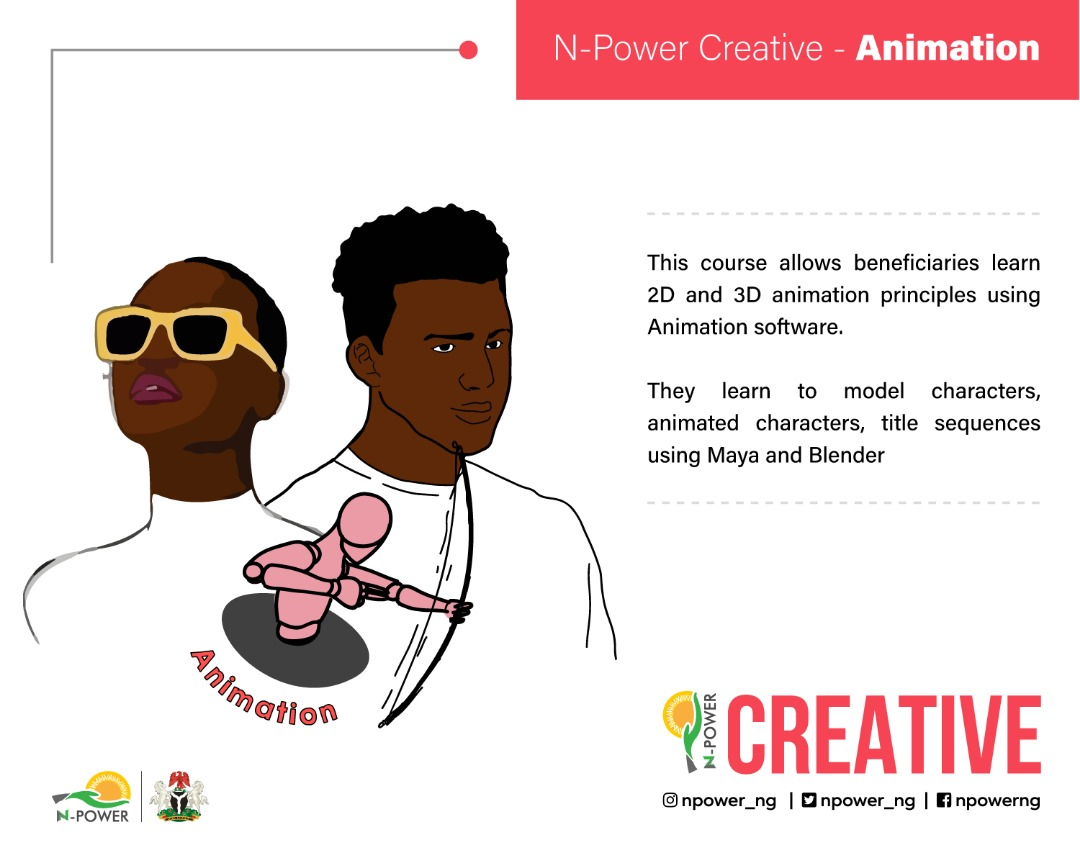 N-Power to host a Training on Animation, Graphic Design, Post-production, Voice Acting & Script Writing