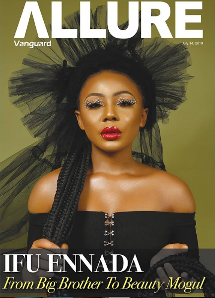 From #BBNaija to Business Mogul! Ifu Ennada Talks About Her Journey as she Covers Vanguard Allure