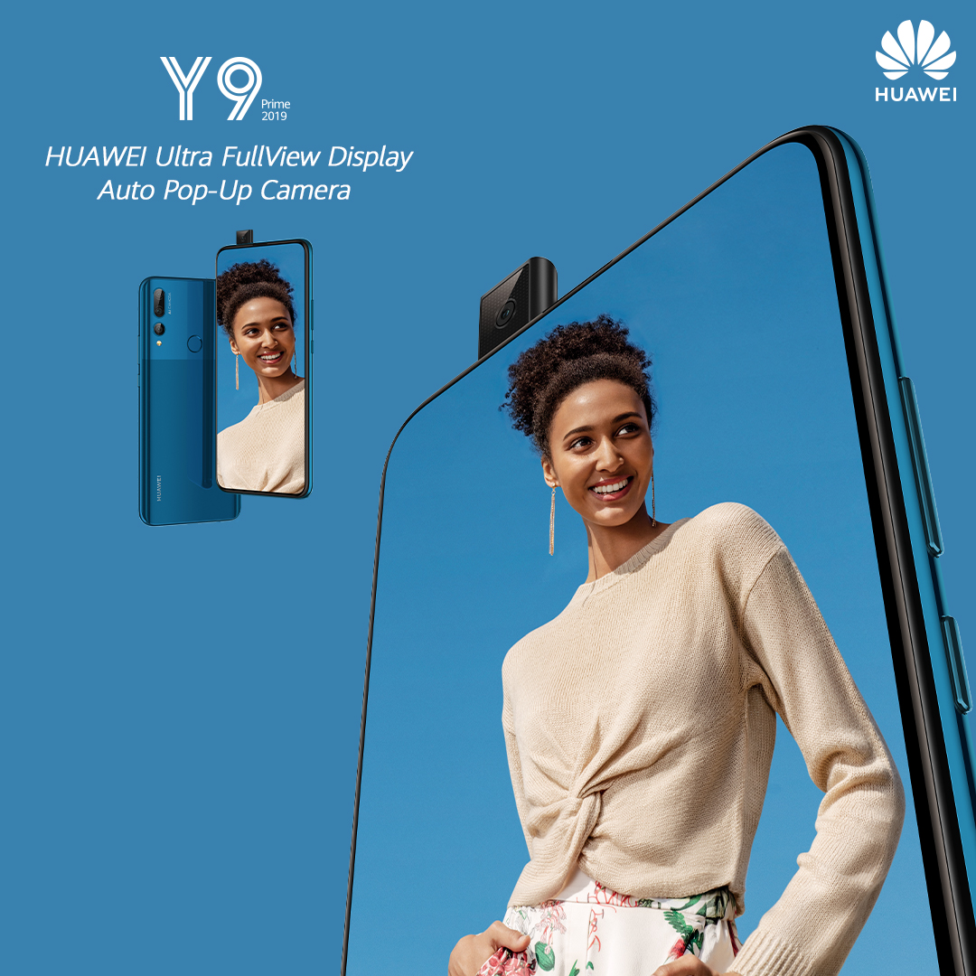 Here are 4 Reasons why we Love the new HUAWEI Y9 Prime 2019