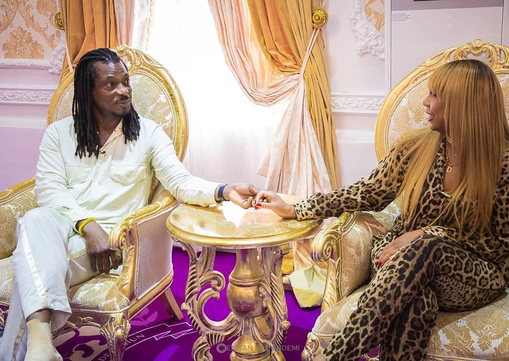 Tamar Braxton Goes To Africa